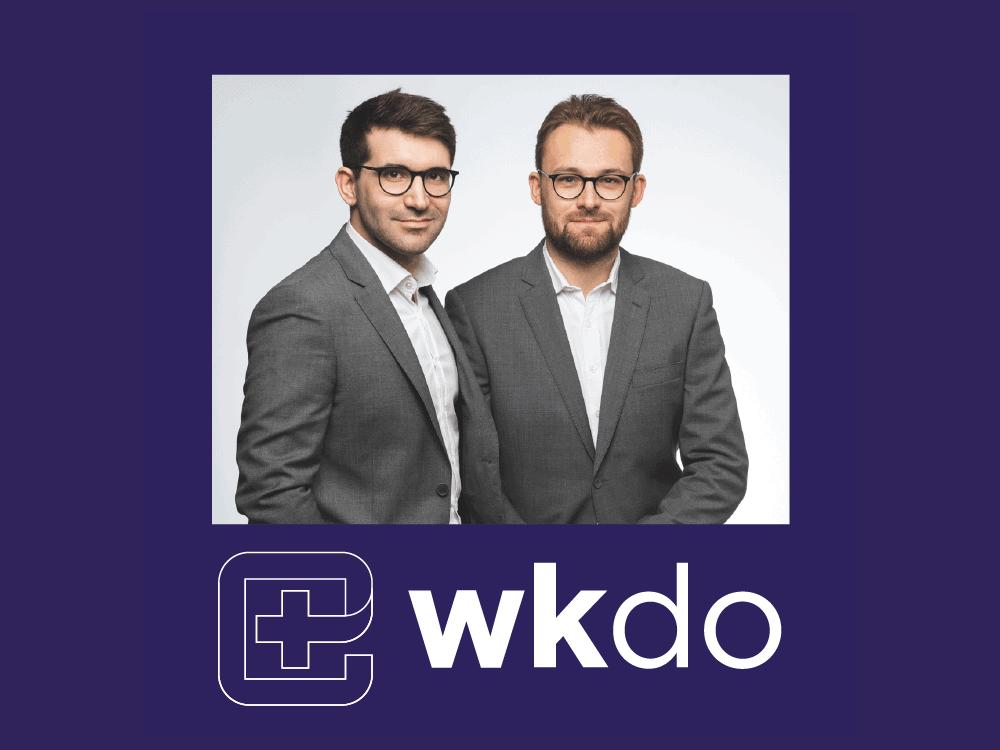 maxime cazier louis pezavant d hermies fondateurs wkdo agence web sante pour les medecins chirurgiens dentistes etablissements de sante